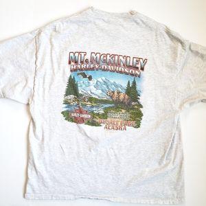 Harley Davidson Mt McKinley Alaska Tee